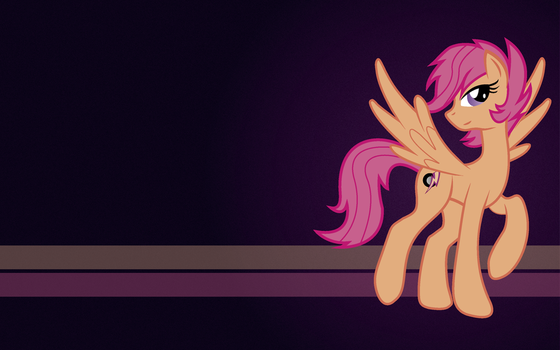 Adult Scootaloo Wallpaper (right side) by maxtervamp