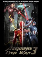 Avengers 3 Poster by GeekTruth64