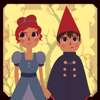 Wirt And Beatrice by CosmicPonye