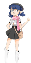Marinette (Fanart) by TreeGreen12
