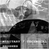 Military + Technical Brushes by nighty-stock