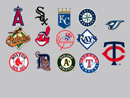 MLB American League Dock Icons by KneeNoh