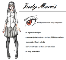 :Horror OC: Judy Morris by MikuParanormal