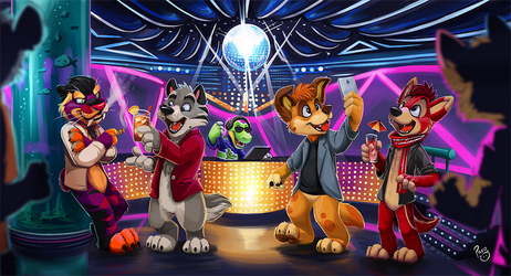 Dance Club by pandapaco