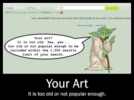 Yoda and the Search Limit by DrMackFoxx
