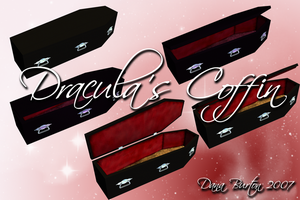 Dracula's Coffin by Stock-by-Dana