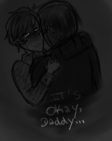 It's okay,daddy... by Dream-Yaoi