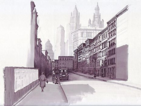 Henry Street by awlaux