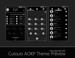 CutOuts AOKP Theme *Release**** by morgynbrytt