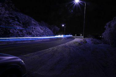 blue lights by cooldude2819