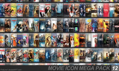 Movie Icon Mega Pack 12 by FirstLine1