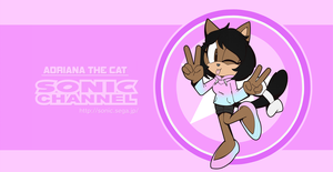 Sonic Channel Adriana The Cat by CuteyTCat