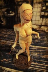 Silent Hill nurse figure by redfill