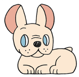 Day 18: French Bulldog by Alice-of-Africa
