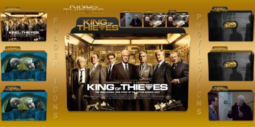 King of Thieves (2018) Folder Icons Pack by ChrisNeville32