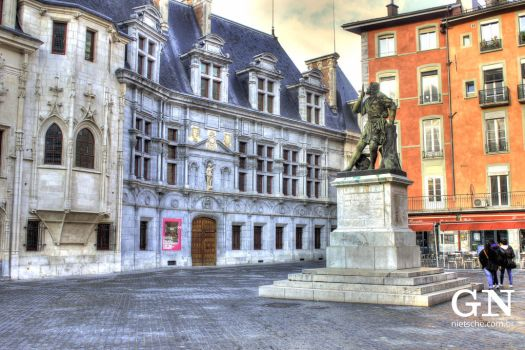 Place Saint-Andre by gnietsche