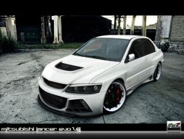 Mitsubishi Lancer Evo VIII by AwBStyle