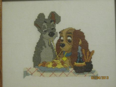 Lady and the Tramp by nomadnostrebor
