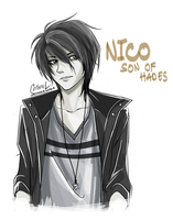Nico: Son of Hades by germanmissiles