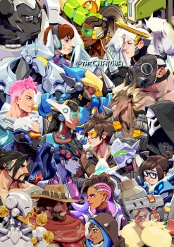 Overwatch by theCHAMBA