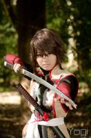 Feel my blade by YagiPhotography
