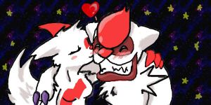 Vigoroth and Zangoose