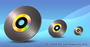 One Big Black Laserdisc. by ZenQ