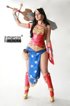 Wonder Woman by Quetos