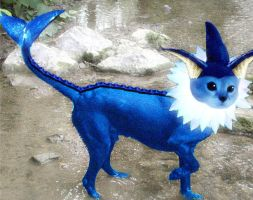 Real Vaporeon by AmyWolfie