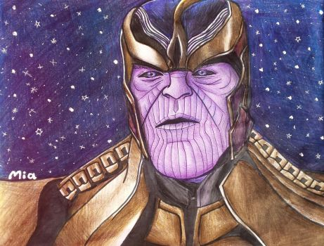 Thanos by MayTheForceBeWithYou