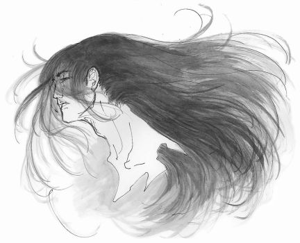 random long haired guy by ctc
