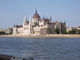 Orszaghaz -parlement by A-mieke