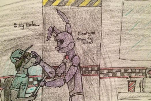 Don't you know the rules? by Minecraftman101