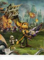 ratchet and clank ad by ryansworld66