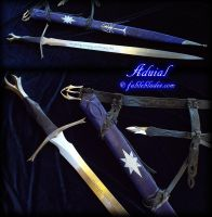 Aduial - Elven Sword of Evening, by Fableblades