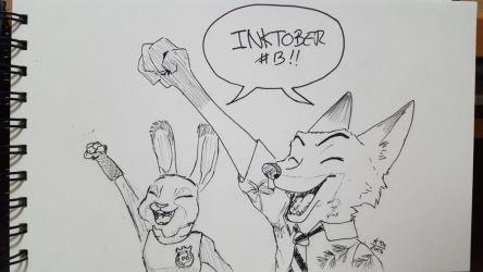 Inktober day #13! by kosko99