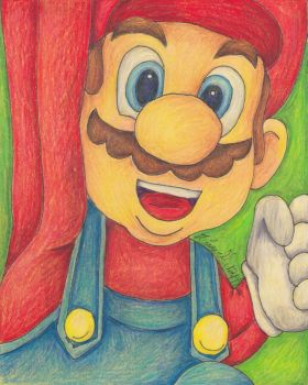 It's A Me! Mario! [Christmas Gift] by Pristine1281
