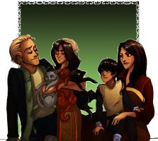 Request: Family portrait 1 by Enife