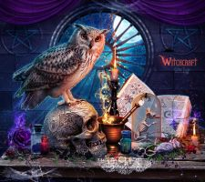 Witchcraft by EstherPuche-Art