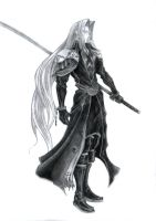 Final Fantasy VII- Sephiroth by Lifeconsumer102