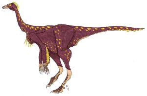Ornithomimus Colored by Mountaineer47