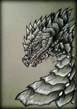 ~ Silver Scales ~ by SaphireDragon16