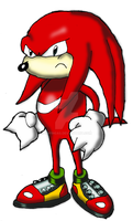 Knuckles clasico KH Jurassic Revolution by DrPingas