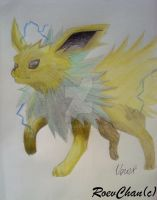 Jolteon by Roev-Art