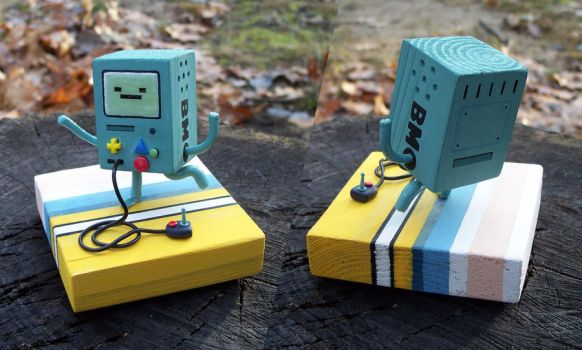 Gift for my brother: BMO from Adventure Time by siraudio