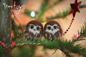Happy NY Owlets by Irentoys
