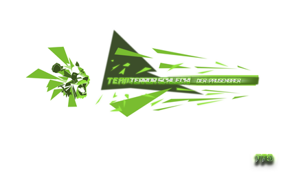 YouTube Banner Pausenbaer - Shades of Green by fabsser