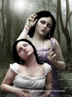 La Hermana + The Sister by vampirekingdom