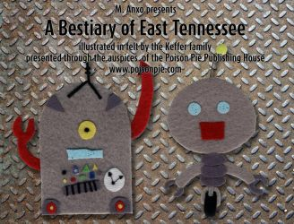 A Bestiary of East Tennessee (promotional flyer 4) by PoisonPiePublishing