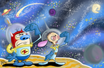 Eediots in SPACE D: by miss-strychnine